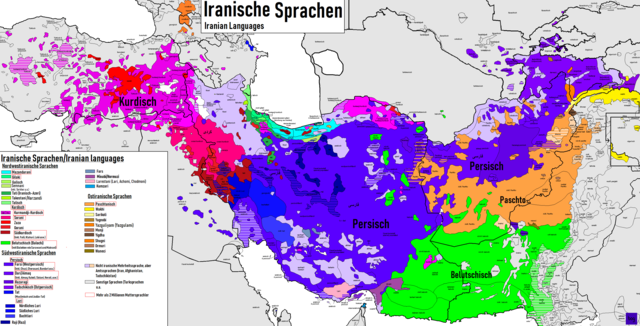Languages of Iran, Wikipedia